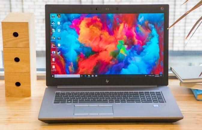 12. HP ZBook 17 G5 4K