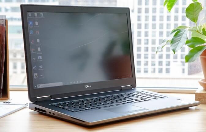 14. Dell Precision 7730 4K