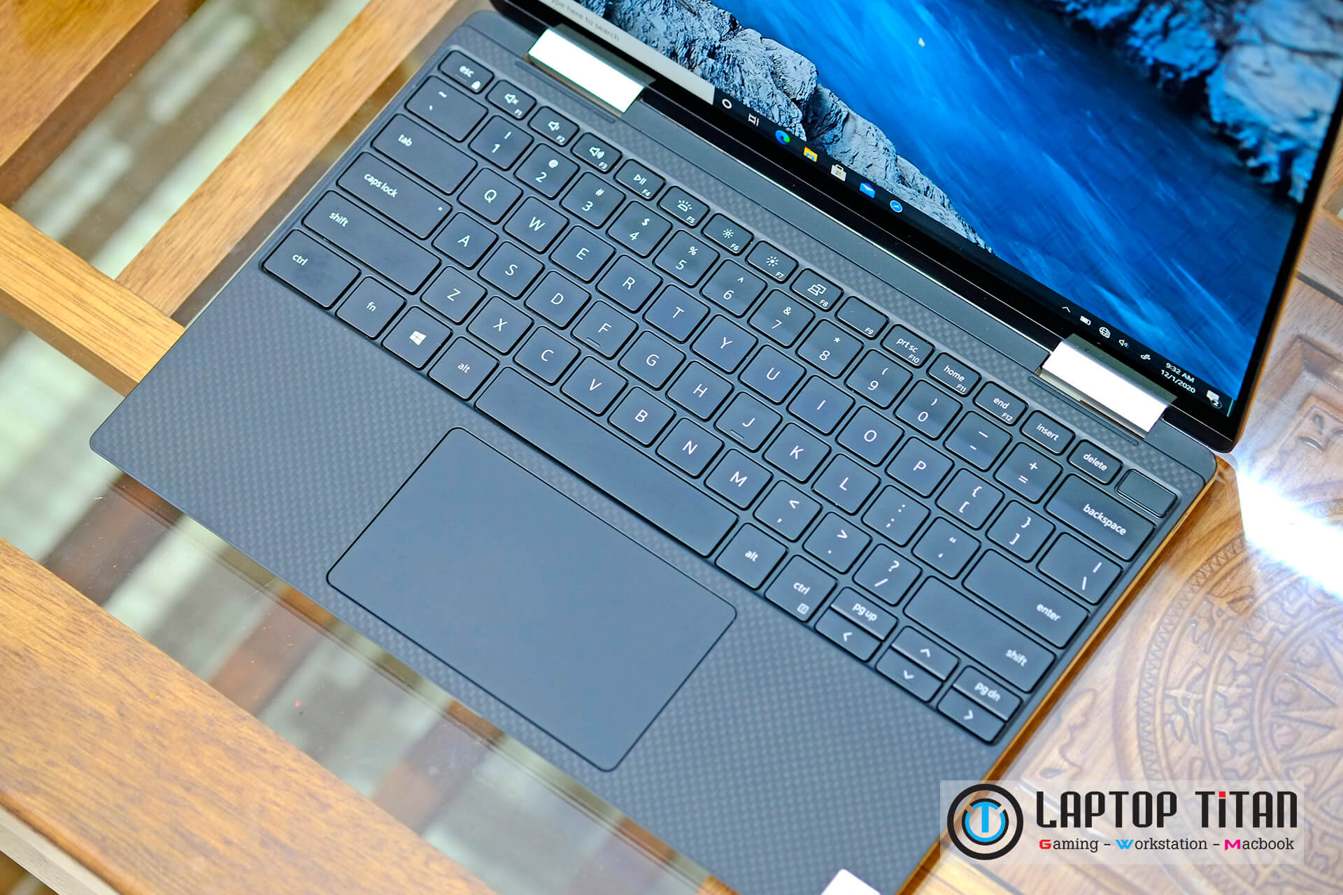 Dell XPS 13 7390 2 in 1 FHD Black Laptop Titan 03