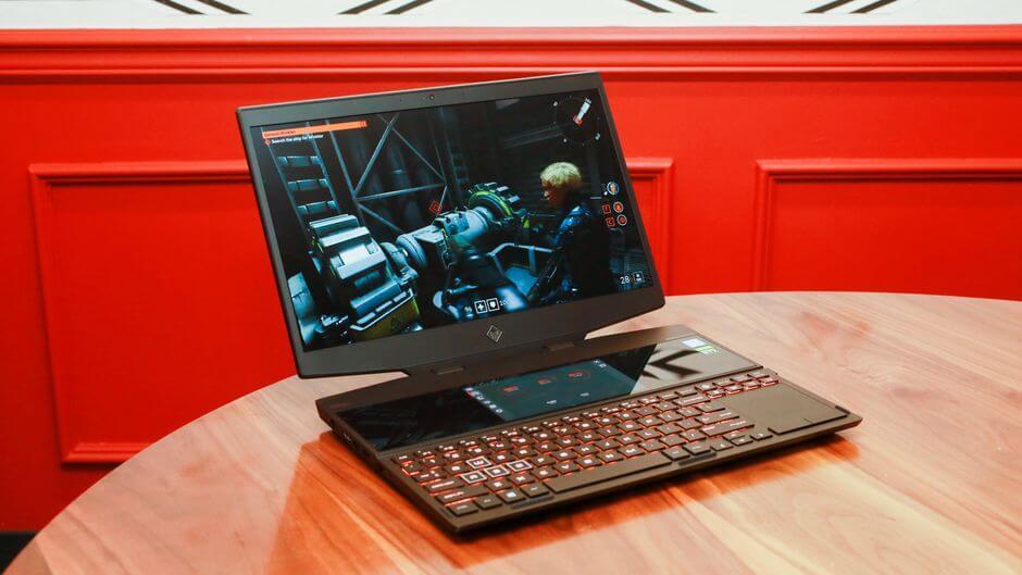 Tong hop laptop gaming tan nhiet hp omen x 2s