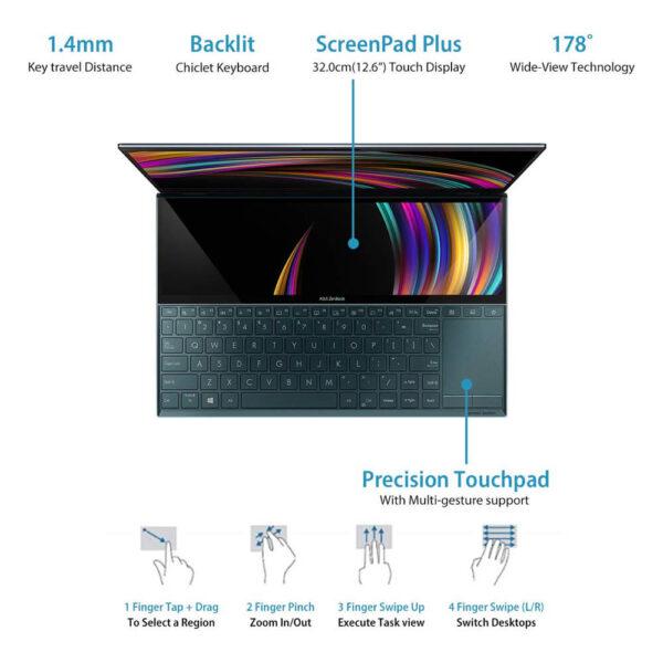 Asus Zenbook Duo 14 UX481FL 09